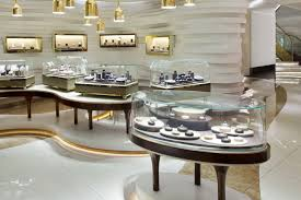 Glass Showcase Jewelry Vitrine Display Jewellery Showroom Shop Delectable Jewelry Store Interior Design Plans
