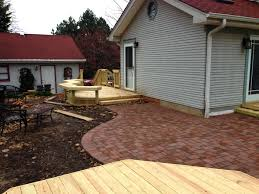 Archadeck of Chicagoland Low Maintenance Deck Paver Patio with
