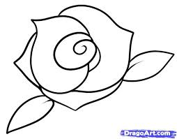 Small Picture Best 25 Easy to draw rose ideas on Pinterest Easy drawing