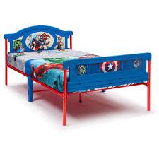 Marvel Bedroom Furniture Delta Children Marvel Avengers Twin Bed Walmartcom