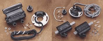 electronic ignition by dyna for harley davidson dyna s ignition systems use magnetic rotors original equipment spark advance mechanisms to retain the factory advance curves and replace points and