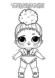Print for free 100 coloring pages. Get This Lol Dolls Coloring Pages Printable Touchdown