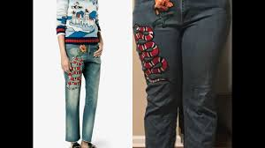 gucci pants. cheap couture episode :1 diy gucci pants for $10