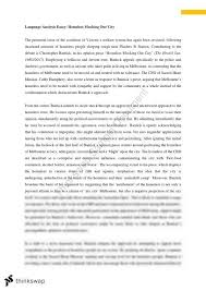 essay analysing the use of language in media for vce english  essay analysing the use of language in media for vce english 3 4