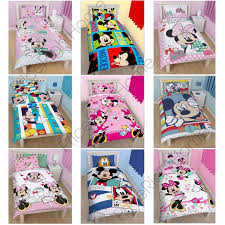 kids duvet covers pertaining to disney mickey or minnie mouse single junior duvet cover sets kids decorations 17