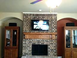 mount tv on brick wall to awesome wall mount on brick fireplace inspirations mount tv solid