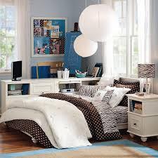 Blue Dorm Room