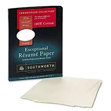 Resume Paper Weight Stunning Southworth Premium Weight Resume Paper 40lbs 404040 X 4040 Ivory