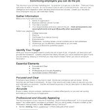 Resume Builder Professional Easy Free Resume Builder Professional