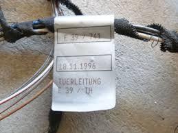 1997 bmw 528i e39 door wiring harness rear left 8374787 1997 bmw 528i e39 door wiring harness rear left 83747876