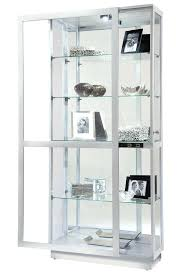 miller modern silver curio cabinet curio cabinets with glass doors display cabinet glass door hinges