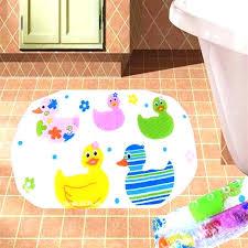 child bath mat duck mats cartoon bathroom suction cup for baby bathtub best non slip