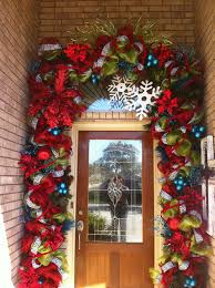A How To Secure Garland Around Front Door