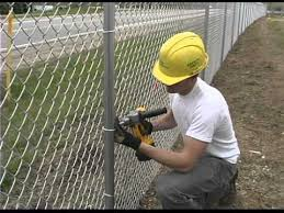 chain link fence ties. Modren Link Easy Twist Fence Ties With Chain Link YouTube