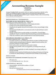Sample Entry Level Accounting Resume – Resume Ideas Pro