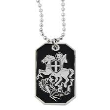 engraved dog tag necklace the masonic
