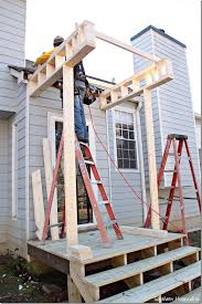 front door portico kitsBuilding a Front Portico  Porticos Southern hospitality and