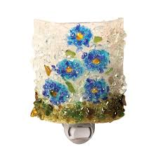 Sandsations Forget Me Not Floral Night Light With Handmade