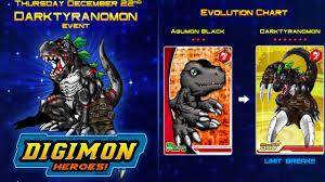 Digimon Heroes Darktyranomon