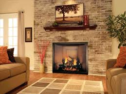 ventless gas fireplace inserts with logs insert menards