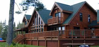 Luxury Log Cabin Open Floor Plan   Yahoo Image Search Results Open Log Home Floor Plans