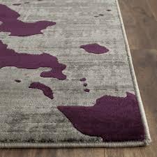 dazzling design purple grey rug beautiful world menagerie varnai light graypurple area reviews rugs cievi home surya round plum and gray lavender sets