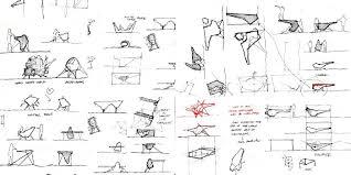 table design sketches. Plain Table Inspiration Design Bureau Ville Urbaine Croquis Sketches Desktop   On Table Design Sketches S