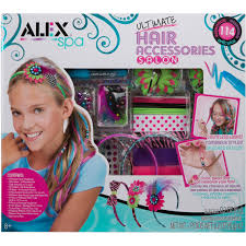 alex toys alex spa ultimate hair accessories hair nails makeup kit