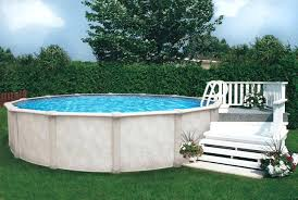 D Pool Deck Plan Above Ground Simple Decks  Surprising For Awesome House