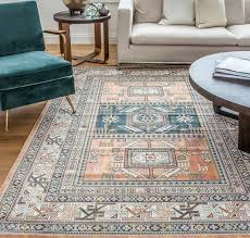 blue and orange area rugs stylish ovid rug reviews birch lane with regard to 25