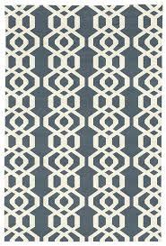 judy ross hand knotted custom wool trellis rug slate cream