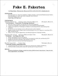Things To Put On A Resume Awesome What To Put Into A Resumes Canreklonecco