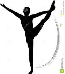 vault gymnastics silhouette. Gymnastics Floor Silhouette Clipart Vault
