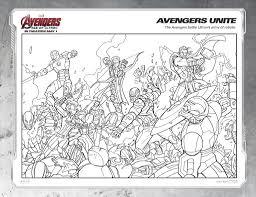 Disegni Da Colorare Supereroi Avengers Timazighin Con Avengers Da