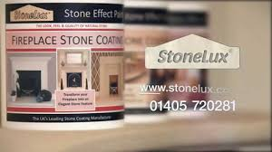 fireplace stone effect paint how to create a stone fireplace you