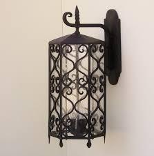 spanish revival lighting. Lowes Floor Lamp Beautiful Spanish Revival Outdoor Lighting Fixturer Wrought Iron R