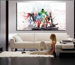 the avengers modern art canvas wall paintings cuadros decorativos with the incredible painting for living room