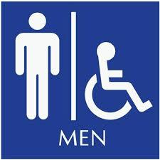blue mens bathroom sign. Wonderful Mens Design For 40 Fabulous Bathroom Signage Mens Sign Logo  Best Restroom Signs Ideas On Inside Blue