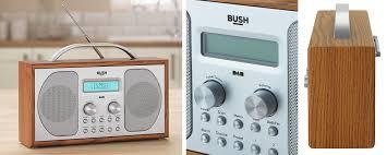 bush wooden dab radio alarm clock review