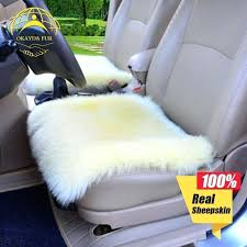pink fluffy seat covers