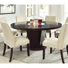 furniture of america janna round dining table in espresso