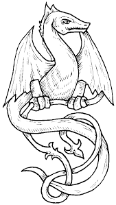 Small Picture Coloring Pages Dragon Elegant Dragon Coloring Pages Realistic