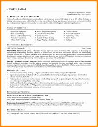 Example Management Resume Templates Examples 2013 Manager Free