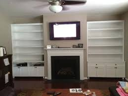 wall units with fireplace and tv inspirational design ideas wall units with fireplace home decoration hand crafted unit mantel by natural and bookshelves