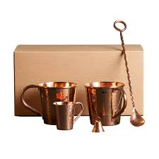 100 copper moscow mule gift set large0