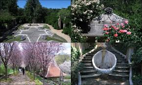 dumbarton oaks gardens were designed by landscape architect beatrix farrand and are now owned along with the mansion and other facilities