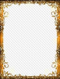 gold frame border png.  Border Png 37875010 Px Size 101 Mb To Gold Frame Border Png G