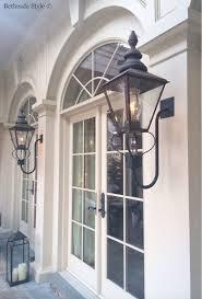 french outdoor lighting. bethesdastyle home exterior bevolo french quarter gas lanterns sutton yantis associates outdoor lighting e
