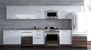 contemporary kitchen furniture detail. Modern Kitchen Cabinets Tall White Units Attractive Furniture Design Contemporary Detail T