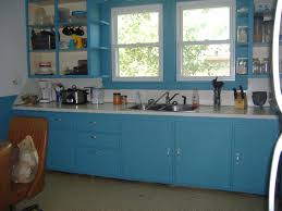 Blue Green Kitchen Cabinets Country Blue Kitchen Cabinets Quicuacom